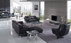 Crystal Glass Coffee Table | Gainsville Furniture Melbourne