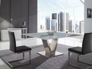 Euro Glass Dining Table